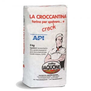 Podsypka do pizzy croccantina Iaquone 5kg