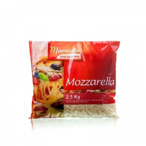 Mozzarella kostka do pizzy MAESTRELLA 2,5 kg